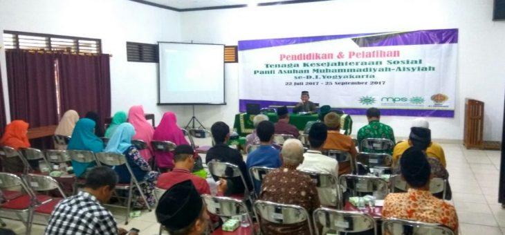 Majelis Pelayanan Sosial DIY Adakan Pelatihan Tenaga Kesejahteraan Sosial
