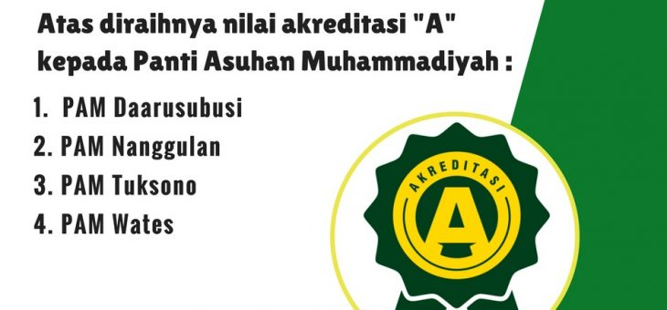 "4 Panti Asuhan Muhammadiyah di Kulonprogo Meraih Akreditasi ""A"""