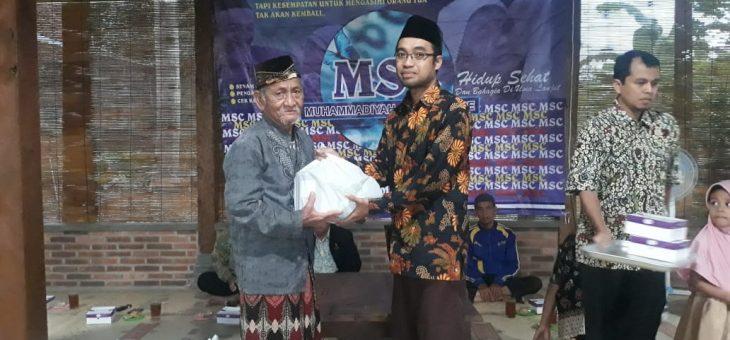 Santunan Senior di PCM Mlati