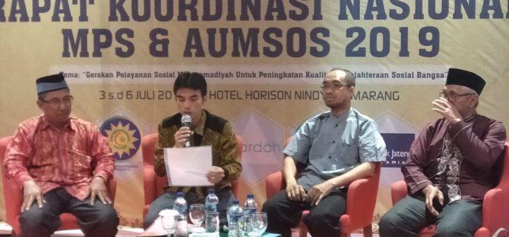 Partisipasi MPS PWM DIY pada acara RAKORNAS MPS PP Muhammadiyah