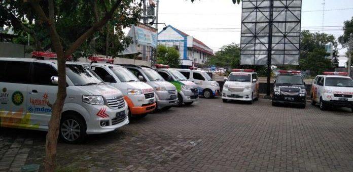 Update Layanan Ambulan Muhammadiyah DIY 25 Agustus 2020
