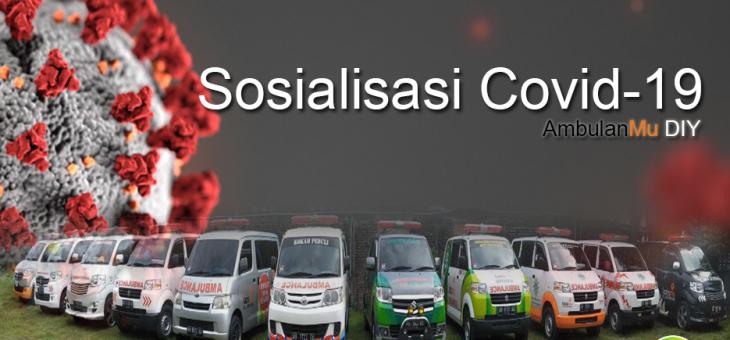 Pandemi Covid-19, MCCC DIY beri sosialisasi kepada Driver AmbulanMu