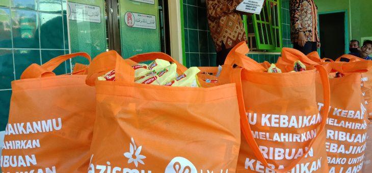 Bantuan Sembako untuk Warga Senior dari kitabisa.com dan Lazismu